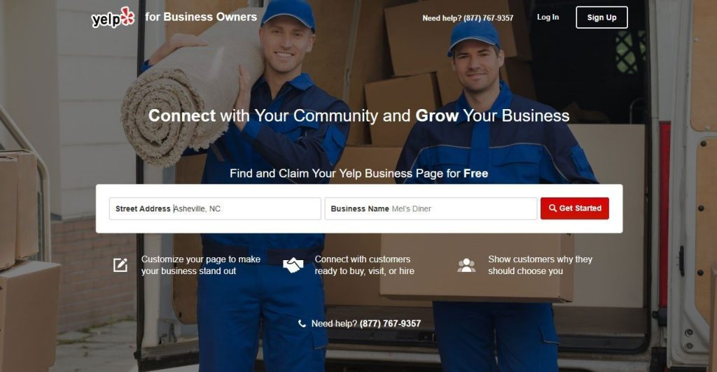 Yelp Business Listing for SEO